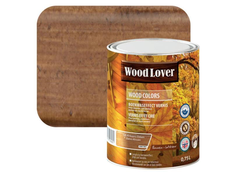 Wood Lover Colors protection du bois 0,75l ébène Africain #120