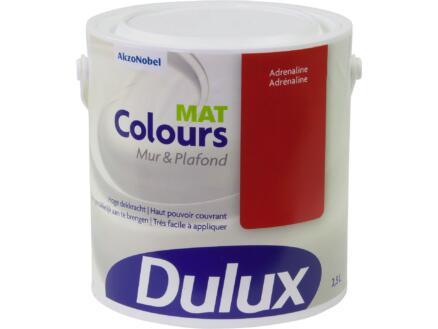 Dulux Colours muur- en plafondverf mat 2,5l adrenaline