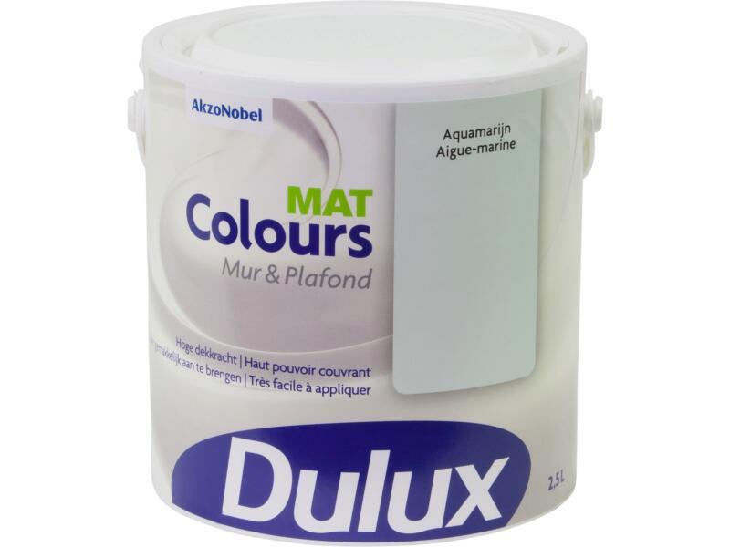 Dulux Colours muur- en plafondverf mat 2,5l aquamarijn