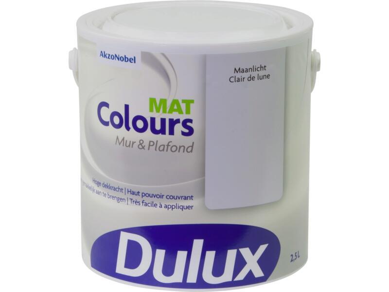 Dulux Colours muur- en plafondverf mat 2,5l maanlicht