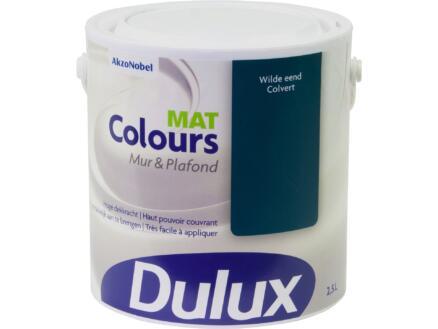 Dulux Colours muur- en plafondverf mat 2,5l wilde eend