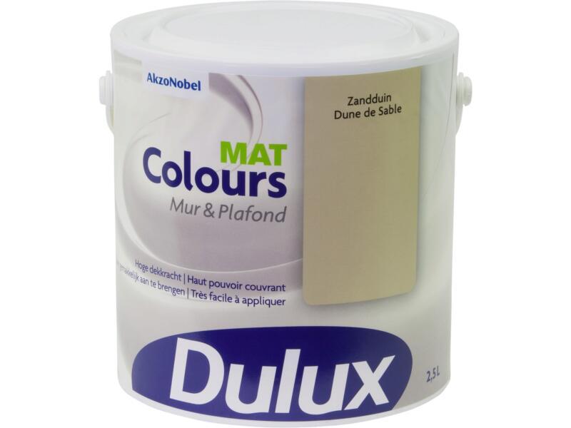 Dulux Colours muur- en plafondverf mat 2,5l zandduin