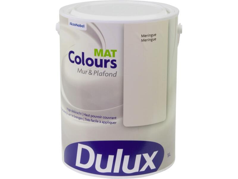 Dulux Colours muur- en plafondverf mat 5l meringue