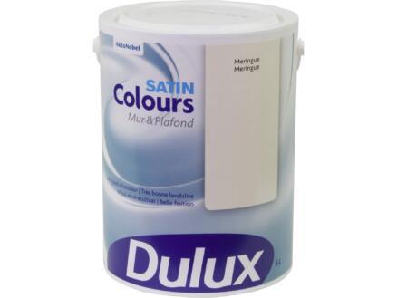 Dulux Colours muur- en plafondverf zijdeglans 5l meringue