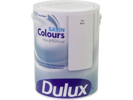Dulux Colours muur- en plafondverf zijdeglans 5l wit