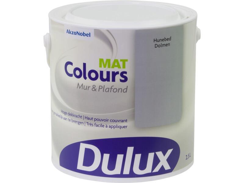 Dulux Colours peinture mur & plafond mat 2,5l dolmen