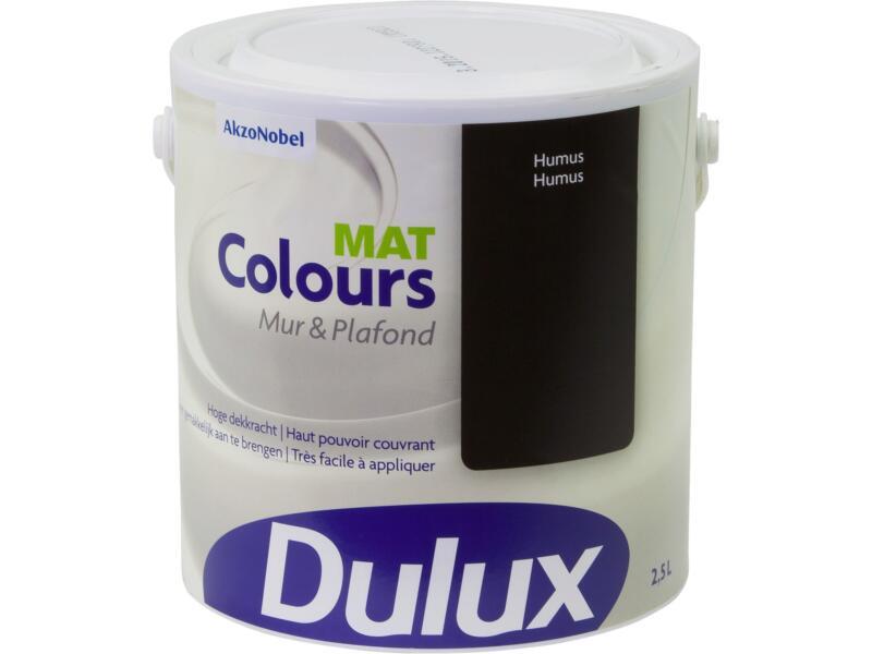 Dulux Colours peinture mur & plafond mat 2,5l humus