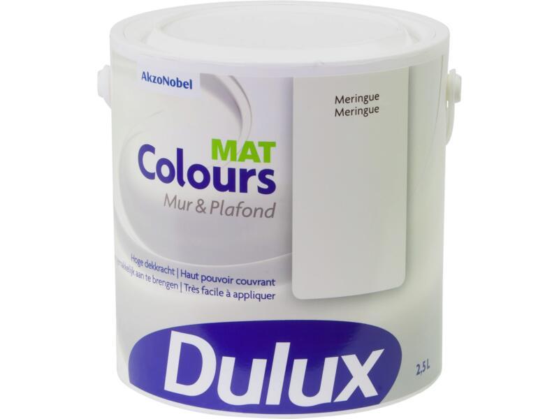 Dulux Colours peinture mur & plafond mat 2,5l meringue