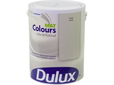Dulux Colours peinture mur & plafond mat 5l lama