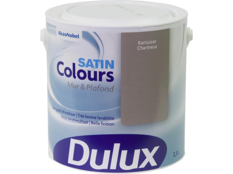 Dulux Colours peinture mur & plafond satin 2,5l chartreux