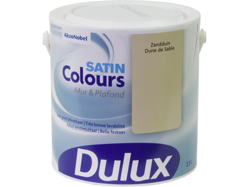 Dulux Colours peinture mur & plafond satin 2,5l dune de sable