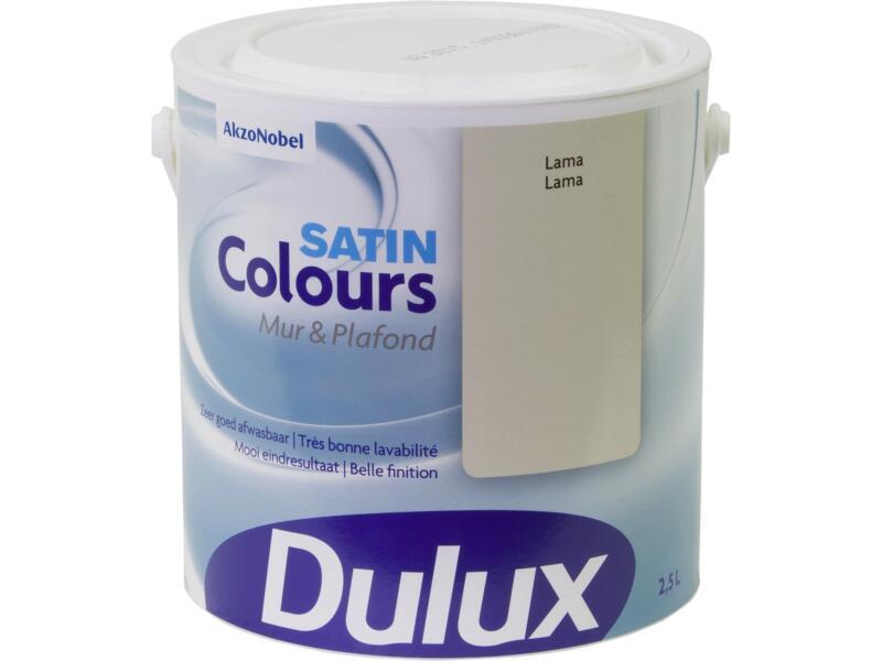 Dulux Colours peinture mur & plafond satin 2,5l lama
