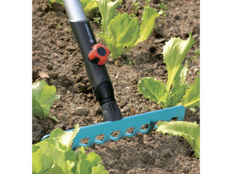 Gardena Combisystem tuinhark 25cm 10 tanden zonder steel