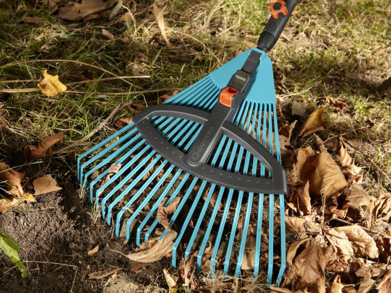 Gardena Combisystem verstelbare bladhark 35-52 cm zonder steel