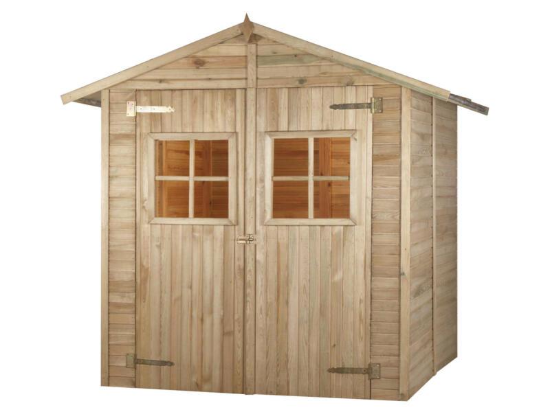 Combloux rangement extérieur 223x183,4x209,4 cm bois