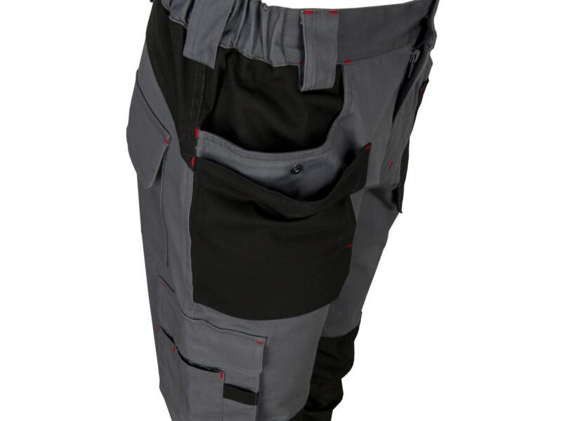 Busters Comfort Stretch werkbroek XXL grijs/zwart