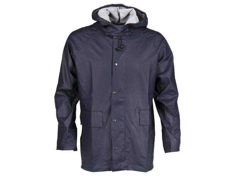 Busters Comfort veste de pluie XL bleu