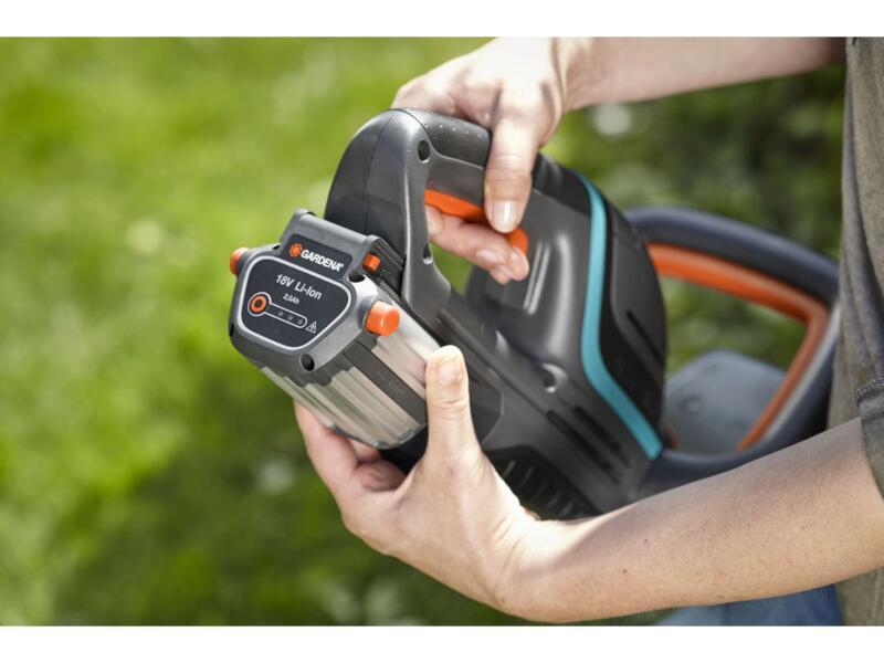 Gardena ComfortCut Li-18/50 taille-haies sans fil 18V Li-Ion 50cm + chargeur