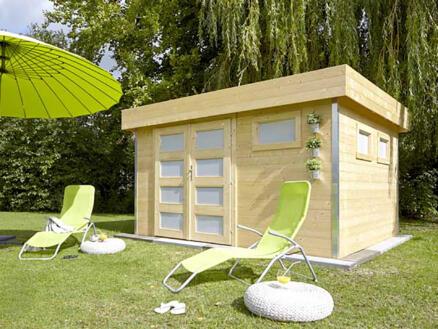 Comfy abri de jardin 350x300x220 cm bois