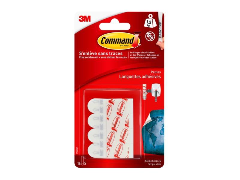 Command Command 17022N languette adhésive tout usage 4,5cm 1,3kg blanc 16 pièces
