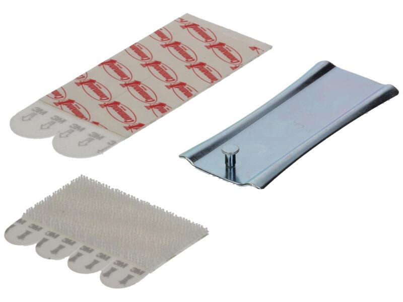 3M Command crochet tableau pour attaches de cadres 7,5cm 2,2kg