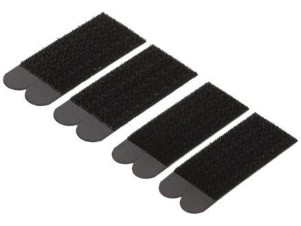 Command Command vastklikstrips 9,2cm 7,4kg zwart 8 stuks