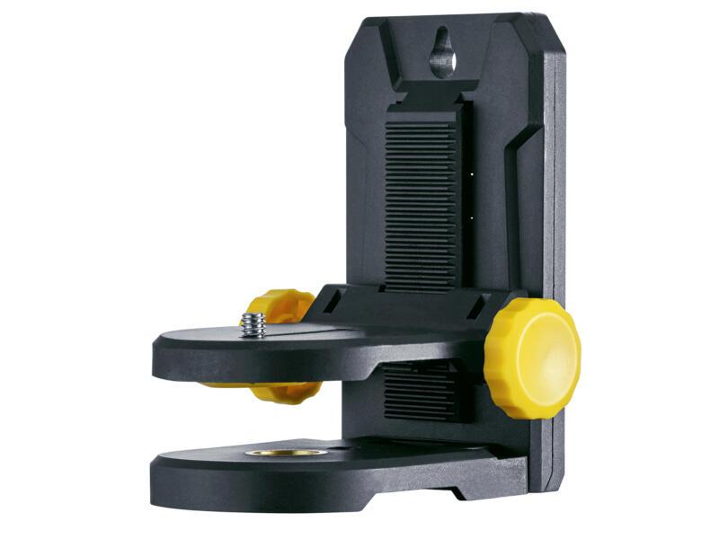 Laserliner CompactCross-Laser Plus laser en croix automatique avec fonction d'inclinaison + fixation murale