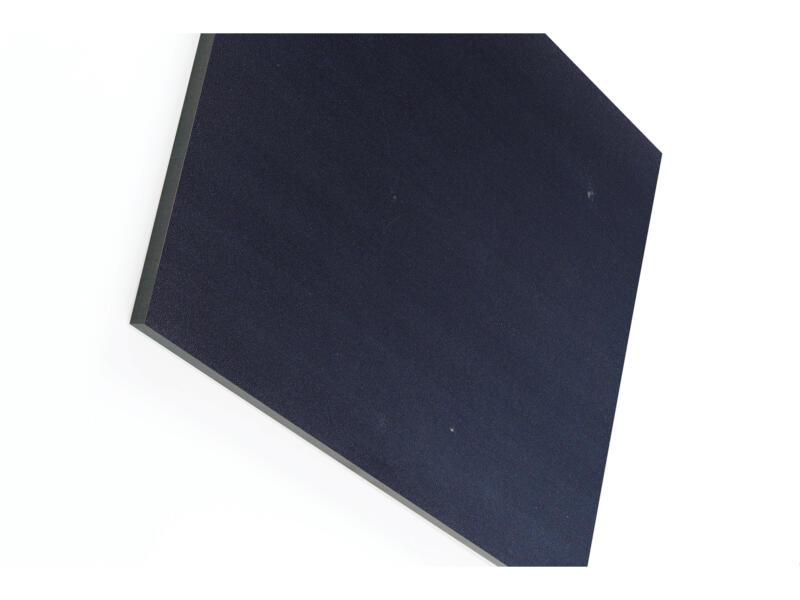 Compactplaat 305x130 cm 6mm antraciet