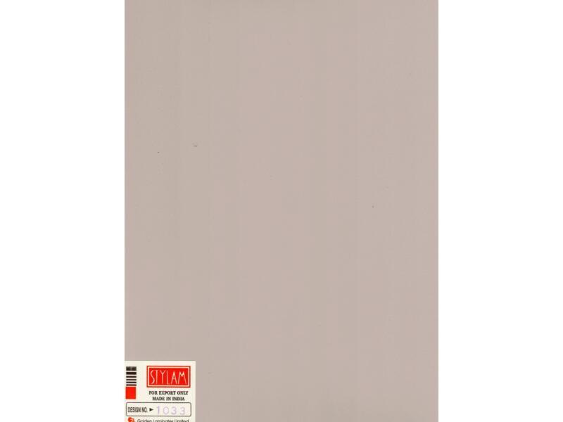 Compactplaat 305x130 cm 6mm cappuccino