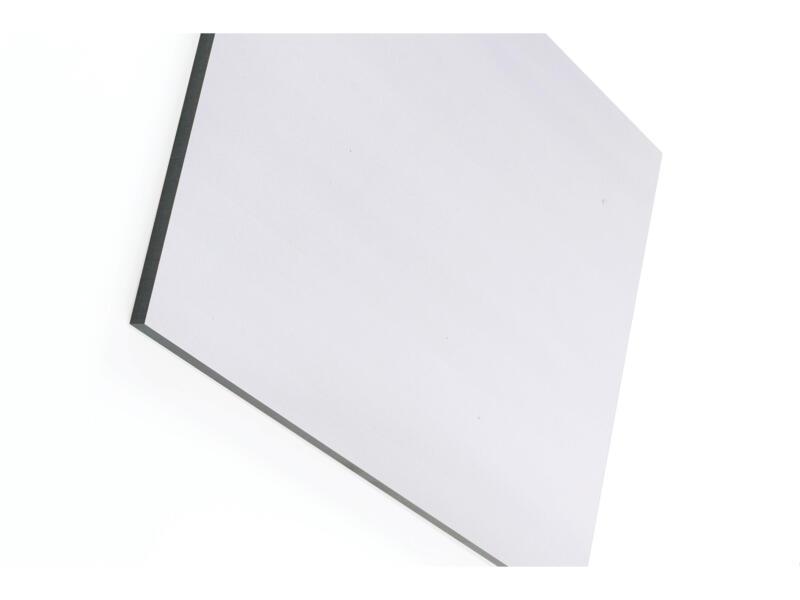 Compactplaat 305x130 cm 6mm parelgrijs