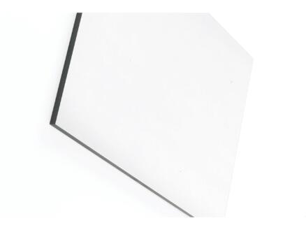 Compactplaat 305x130 cm 6mm wit