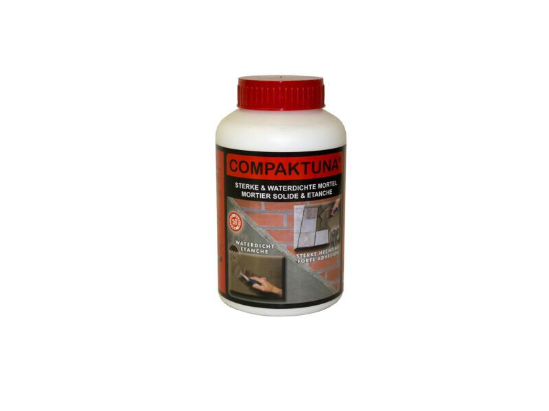 Compaktuna mortel waterdicht 1l wit