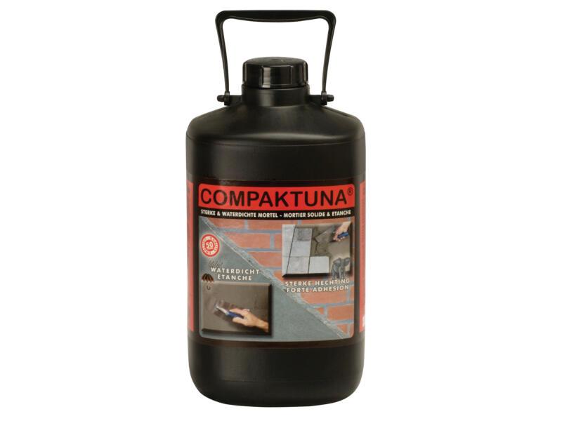 Compaktuna produit d'étanchéité pour mortier 5l blanc