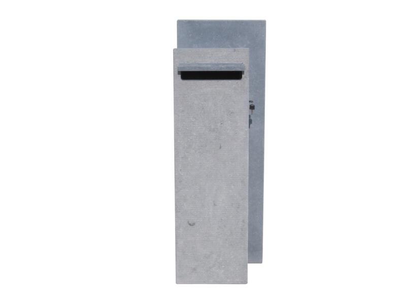 VASP Compostella Line brievenbus rechts belgische blauwe steen