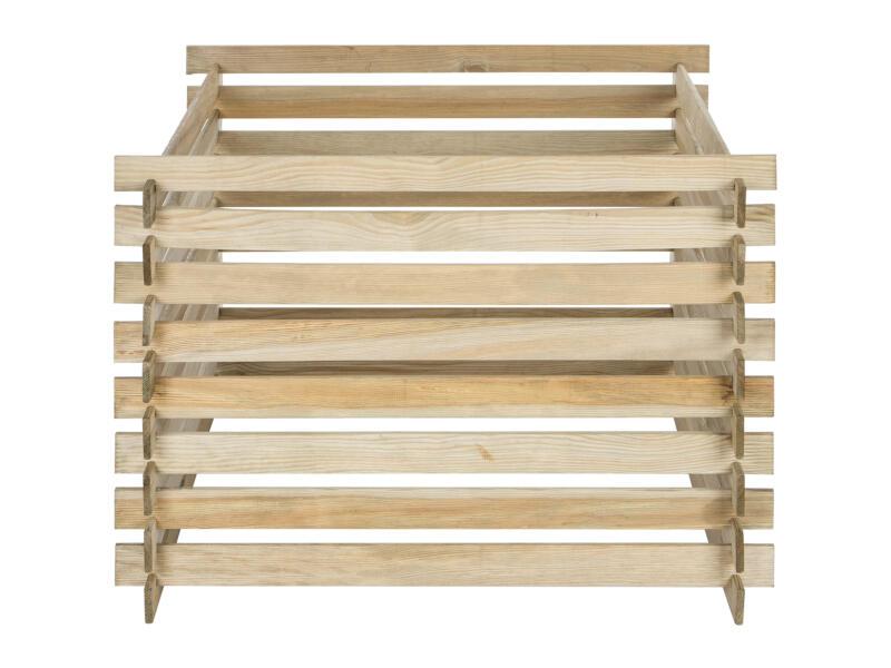 Composteur en bois 530l
