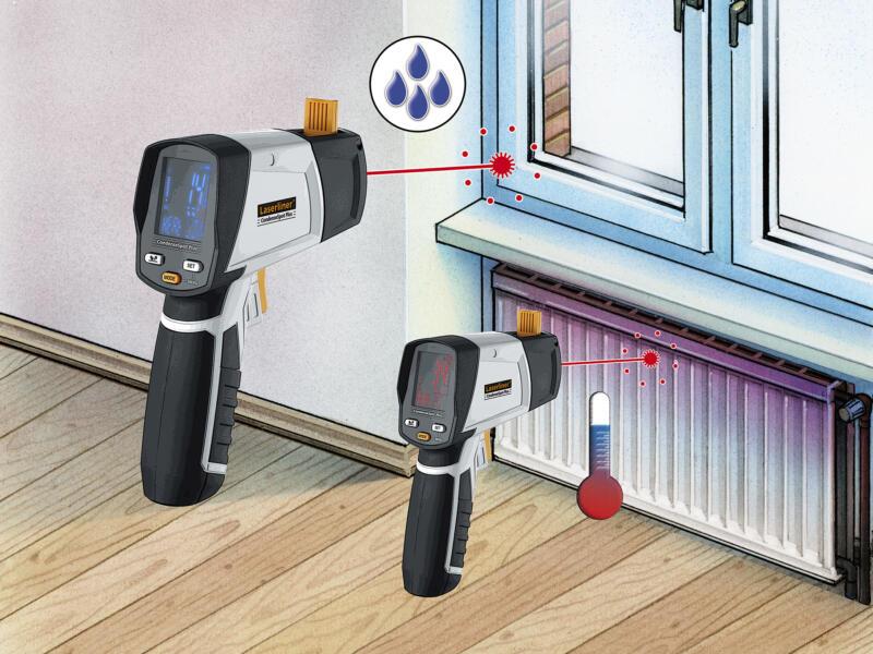 Laserliner CondenseSpot Plus thermomètre infrarouge