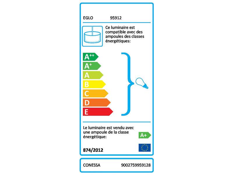 Eglo Conessa suspension LED 4x3,3 W chrome