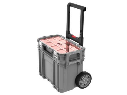 Keter Connect Toolbox servante mobile 56,5x55x37,3 cm + organiseur