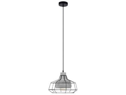 Eglo Consett hanglamp E27 max. 60W 30cm grijs/zwart