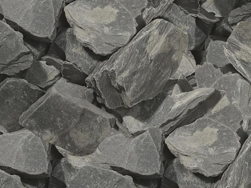 Copeaux de schiste 30-60 mm 20kg noir