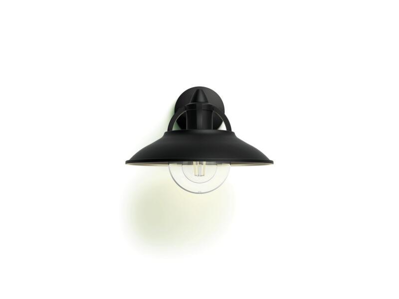 Philips Cormorant wandlamp E27 max. 42W zwart