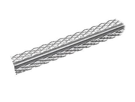 Corner Bead cornière d'angle pour plafonnage 3m 30x30 mm acier