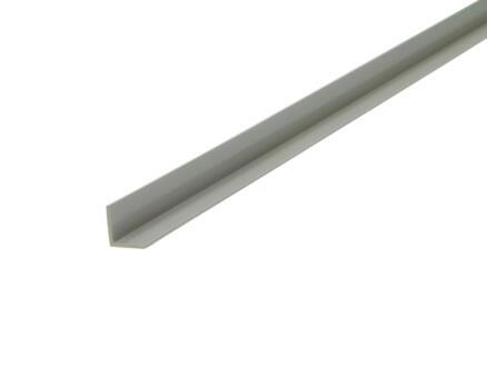 Arcansas Cornière 1m 10x10 mm PVC blanc