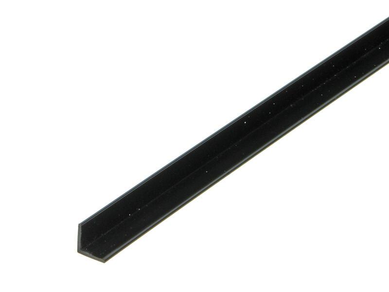 Arcansas Cornière 1m 10x10 mm PVC noir