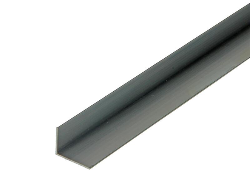 Arcansas Cornière 1m 20x15 mm aluminium naturel