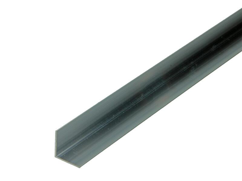 Arcansas Cornière 1m 20x20 mm aluminium naturel