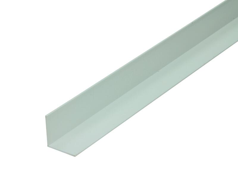 Arcansas Cornière 1m 25x25 mm PVC blanc