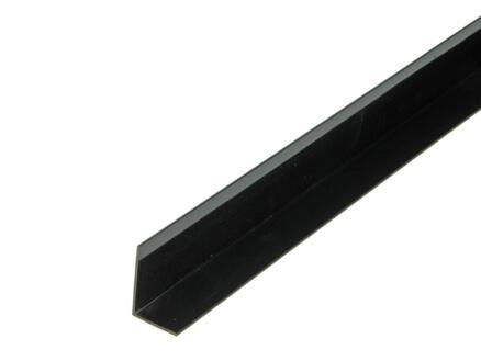 Arcansas Cornière 1m 30x20 mm PVC noir