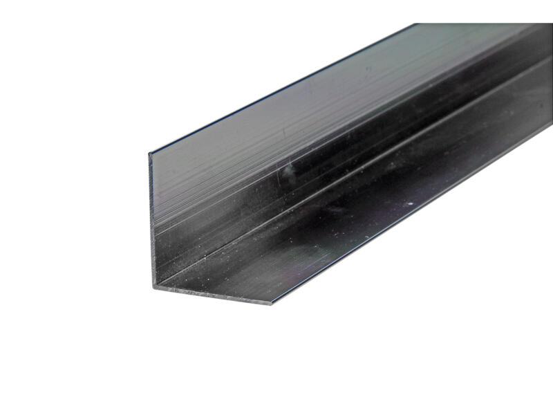 Arcansas Cornière 1m 30x30 mm aluminium brillant anodisé