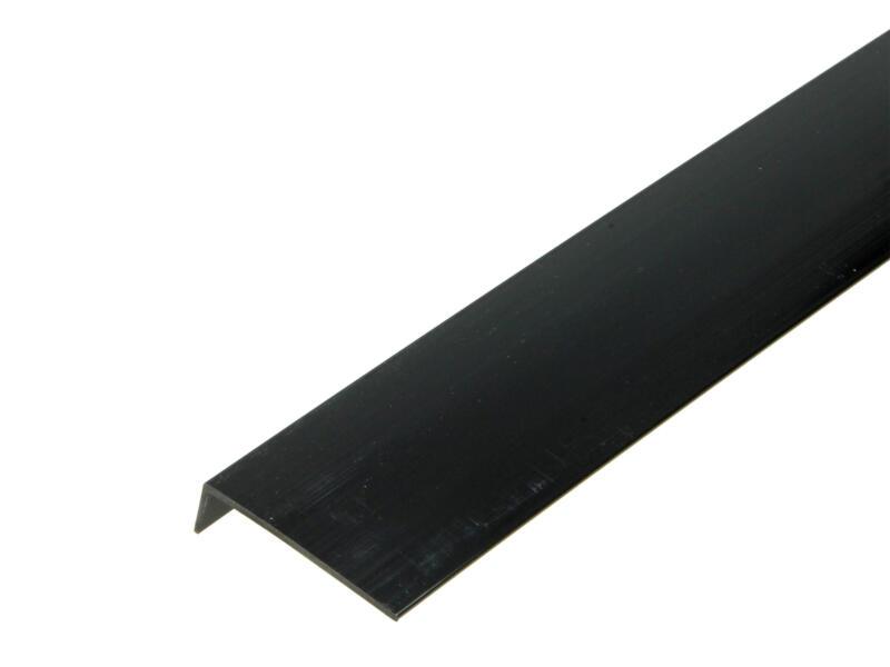Arcansas Cornière 1m 40x10 mm PVC noir